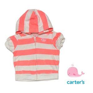 Carter's Zip Up Hoodie for Girl 6mo